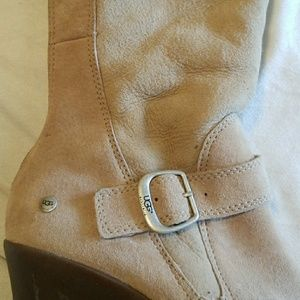 UGG Australia Tan Suede Boots